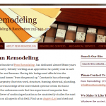 Penn Remodeling website